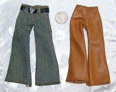 NEW LOT OF STANDARD SIZE BOYZ BOY BRATZ DOLL PANTS JEAN CLOTHES LOT #3