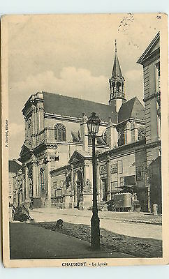 52-CHAUMONT-Le lycee