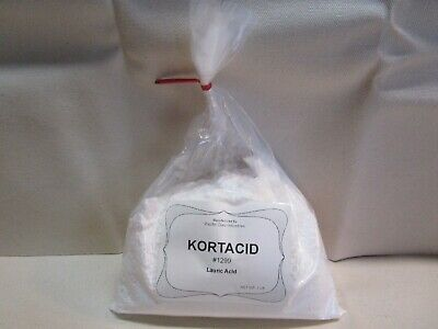 1.5 lbs  LAURIC ACID  -  Kortacid 1299 -  Soaps  Candles  Stabilizers Detergents