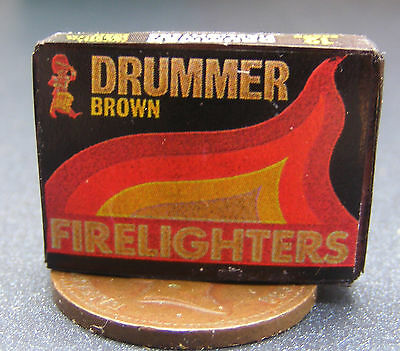 1:12 Scale Drummer Fire Lighter Packet Dolls House Miniature Kitchen Accessory