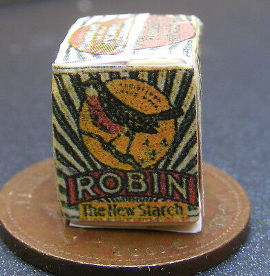 1:12 Scale Worn Robin Starch Packet Dolls House Miniature Kitchen Accessory