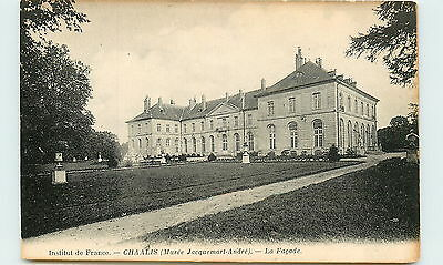 60-CHAALIS-Facades musee Jacquesmart Andre