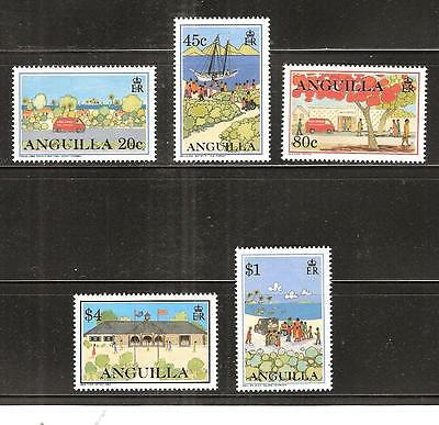 Anguilla # 899-903 Mnh Mail Delivery