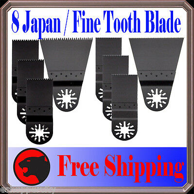 8 Japan/Fine Wood Oscillating Multi Tool Saw For Blade Fein Multimaster Dremel