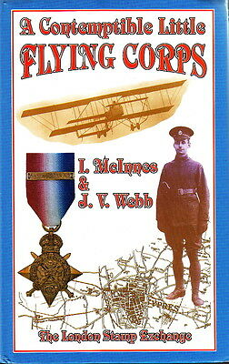 A CONTEMPTIBLE LITTLE FLYING CORPS - BOOK with Pre-WW1 R.F.C. NCO & AIRMEN ROLL