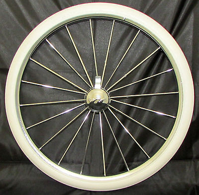"Silver Cross Kensington Coach Built Pram Wheel + Tyre Size 14"" (300 25) New"