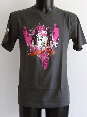 """T-Shirt Theme Poker """"Limp'in"""" Modele Twin Sisters Homme Col V / Taille M"""