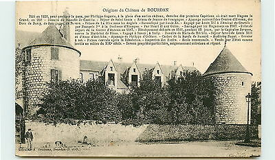 91-DOURDAN-Origines du chateau