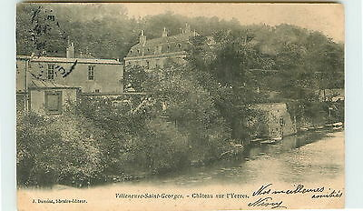 94-VILLENEUVE SAINT GEORGES-Chateau