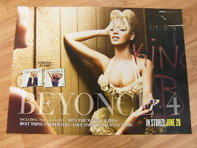 Beyonce - 4 [Original Poster] 2 Sided *new*