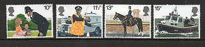 GB 1979 MET Police 150th Anniv MNH mint set stamps