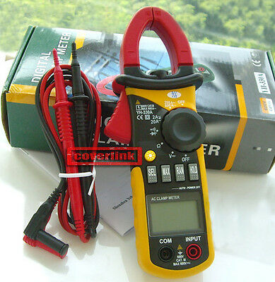 New LCD Digital Multimeter Electronic Tester AC DC Clamp Meter Tool YH-330A