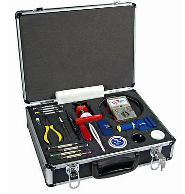 Malette d' outillage d'horloger tools kit for watchmaking Horotec 98.015 PROMO