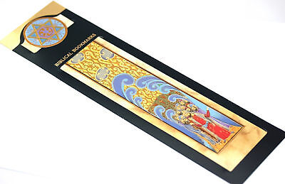 Moses & People of Israel Exodus BOOK MARK Torah/Bible Jewish Judaica Lovely Gift