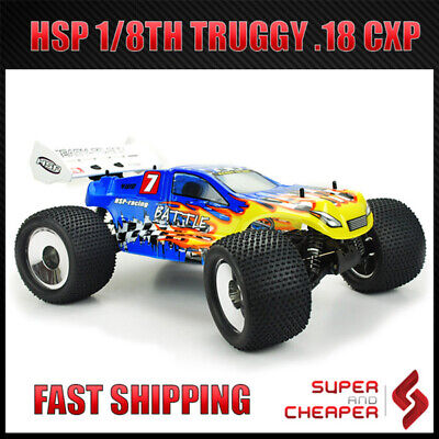 HSP Battle 2.4Ghz 1/8 RC Car Off Road Nitro Gas Monster Truggy