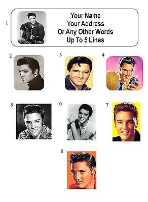 30 Elvis Presley Personalized Address Labels