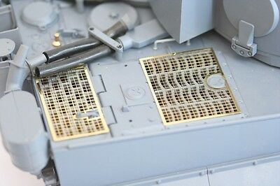 Taigen photo-etch grills for 1/16 scale Heng Long Tiger 1 1:16