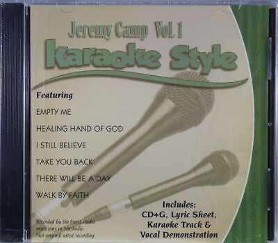 Jeremy Camp Volume 1 Christian Karaoke Style NEW CD+G Daywind 6 Songs