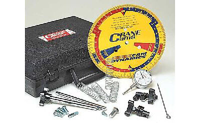 Crane Cams 99030-1 Tune-A-Cam KitIncludes: Case, Degree Wheel, Dial Indicato
