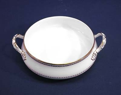 Crown Staffordshire China BLACKSTONE A 16028 Round Vegetable Serving Bowl