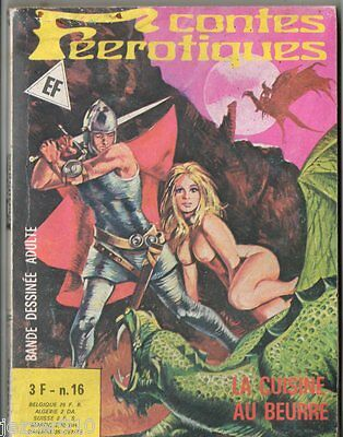 ^+^ CONTES FEEROTIQUES n°16 ^+^ 1976 ELVIFRANCE