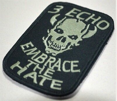 AFSOC COMBAT CONTROL DEATH on CALL TACP OPERATOR VELCRO PATCH: 3 ECHO Multicam