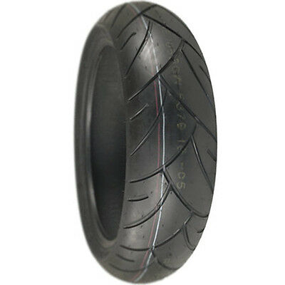 Shinko Advance Radial Sport Bike Tire 180/55Zr17  Aramid Belt Dot Rear