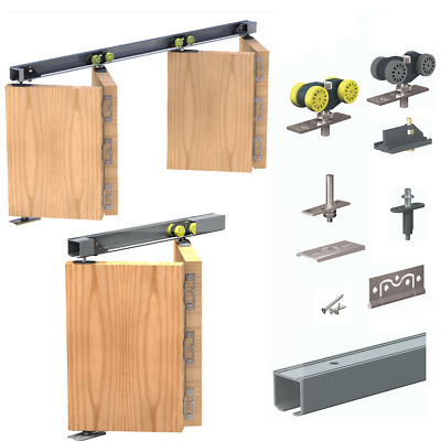 Bi-folding Doors Sliding kit for folding panels 25kg or 40kg with 1200mm track