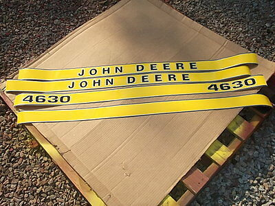 John Deere 4630 Decals. Hood Only. Great Quality See Details