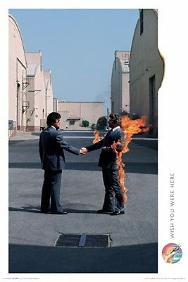 PINK FLOYD WISH YOU WERE HERE POSTER, Size 24x36