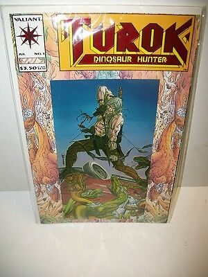 1993 Valiant Turok Dinosaur Hunter No. 1 Comic Near Mint