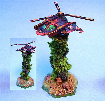 Battletech painted Peregrine Attack VTOL WD