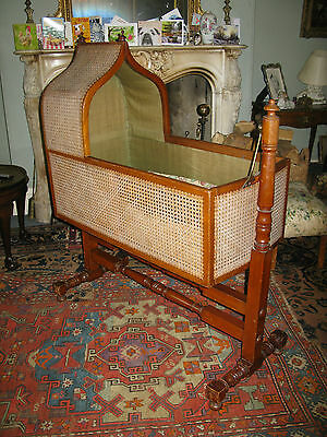 Victorian Childs Bergere Cradle c1895