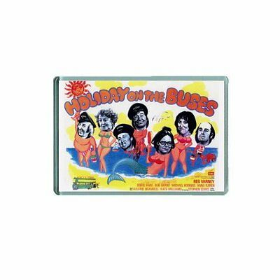 HOLIDAY ON THE BUSES - BLAKEY  (MOVIE POSTER)  JUMBO Fridge Magnet