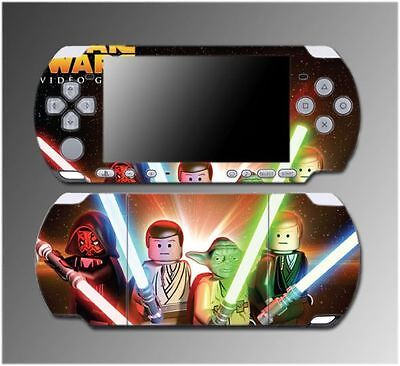 Star Wars Jedi Darth Vader Luke Cartoon Game Skin #5 for Sony PSP Slim 3000