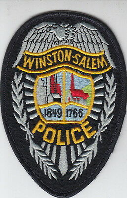 Winston-Salem North Carolina Police Shoulder Patch