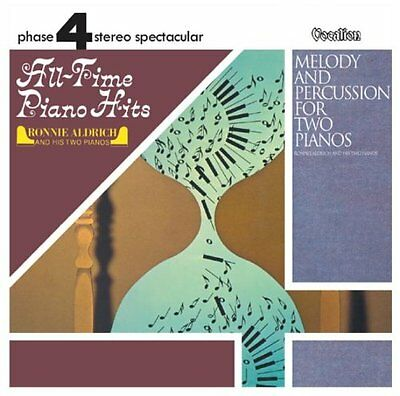 Ronnie Aldrich & His Two Pianos ALL-TIME PIANO HITS & MELODY AND PERCUSSION
