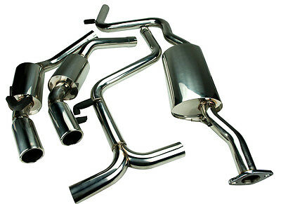 Stainless Steel Exhaust Twin Exit For Ford Mondeo Mk2 2.5 V6 St200 St24