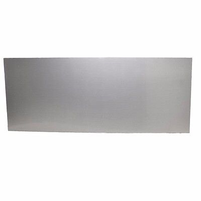 Boat Blank Dash Panel |60 x 24 Inch Plastic Brushed Silver