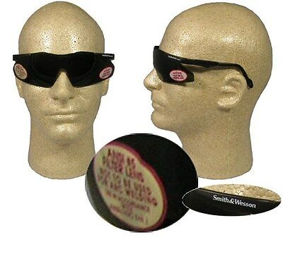 Smith and Wesson Magnum Safety Glasses with 5.0 Welding Lens