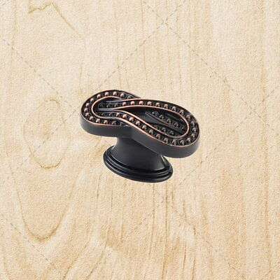Kitchen Cabinet Hardware Infinity Knobs kt78 Brushed Oil Rubbed Bronze Pulls