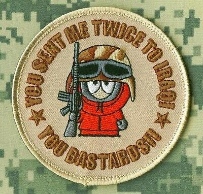 OIF WAR TROPHY Vintage '90s Kenny McCormick: You send me twice to Iraq (vel©®⚙)