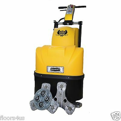 "20"" Concrete Genie Polishing Grinder Floor Prep Machine 5 HP Resurfacing Diamond"