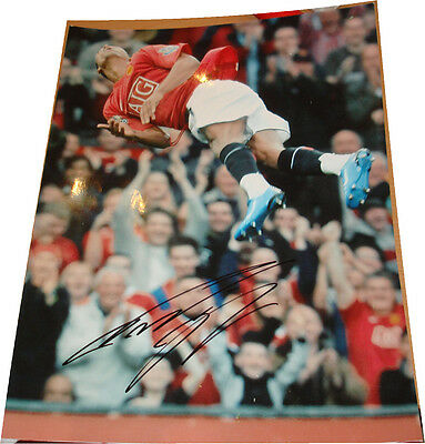 Nani Manchester Utd SIGNED AUTOGRAPH AFTAL Founders UACC RD