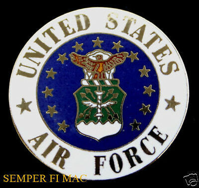 XL US AIR Force Seal Logo Pin Up Usaf Graduation Promotion Retirement Gift  Box