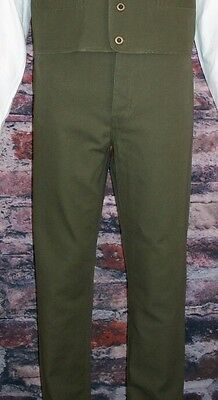 FRONTIER CLASSICS Olive Old West Frontier Trousers SASS Victorian Steampunk