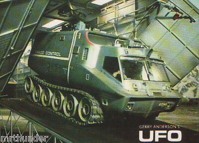 Gerry Anderson's UFO  Postcard Engale Marketing 1986 SHADO Mobile