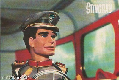 Gerry Anderson's Stingray Postcard - Engale Marketing 1987 Troy Tempest