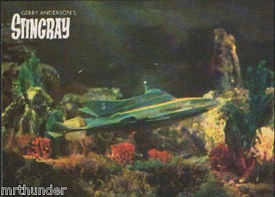 Gerry Anderson's Stingray Postcard - Engale Marketing 1988  Stingray Craft