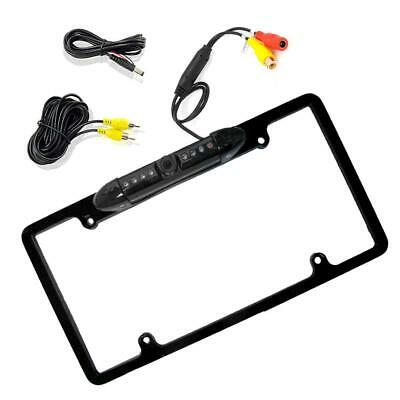 Enrock EAB256B License Plate Frame Rearview Camera (Distance Scale Lines)